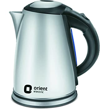 Orient Electric KT1702S 1.7 Litre Stainless Steel Kettle (Steel Grey)