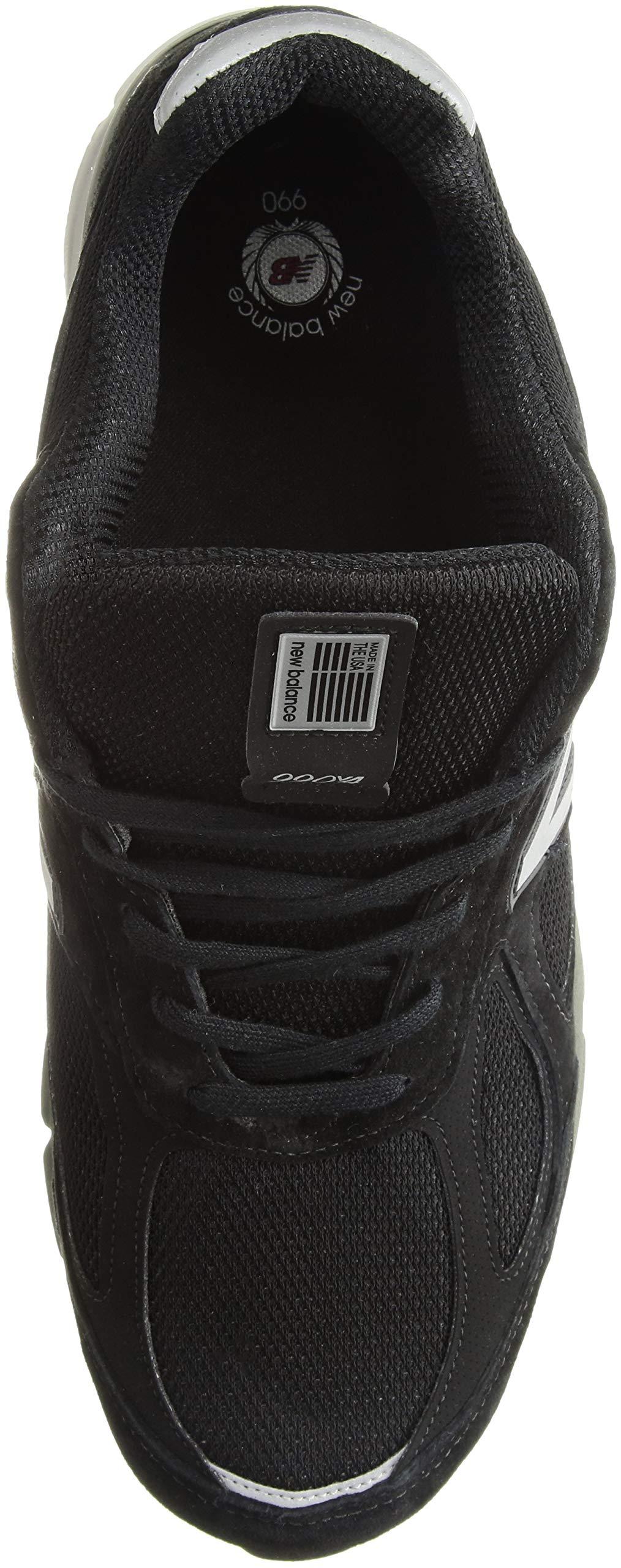 81SM6zY8OJL - New Balance Mens M990 990v4 Black Size: 7.5 Wide