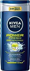 Nivea Men Power Fresh Duschgel, 4er Pack (4 x 250 ml)