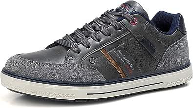 ARRIGO BELLO Uomo Scarpe Casual Sneakers Ginnastica Passeggio Correre Comode Moda All'aperto Viaggio Campeggio Taglia 41-46