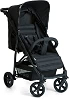 Hauck Rapid 4 Wheel Stroller For Unisex, Caviar Black - 148303