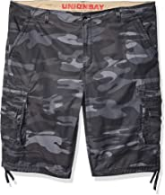 UNIONBAY Men's Cordova Belted Messenger Cargo Short - Reg and Big and Tall Sizes