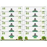 Lingettes nettoyantes Pack de Voyage Pogi's - 240 Lingettes désodorisantes pour Chien - biodégradables, Parfum de thé Vert, N