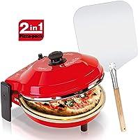 SpiceDiavola / CalienteFour à pizza avec pierre réfractaire 400°C Résistance circulaire