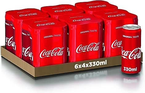 Coca-Cola Original Taste 330ml x24 (Lattina)
