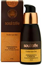 SoulTree Under Eye Gel With Pomegranate & Almond Oil, For Oily To Combination Skin, 40 ml