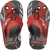 Spiderman by Kidsville Black Boys Flipflops Flip-Flops
