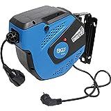 BGS 3321 | Automatische kabelhaspel | 15 m + 1 m voedingskabel | 180 ° zijwaarts draaibaar | incl. montagehouder