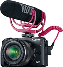 Canon EOS M3 Mirrorless Camera - Video Creator Kit with EF-M 18-55mm f/3.5-5.6 is STM Lens (Black)