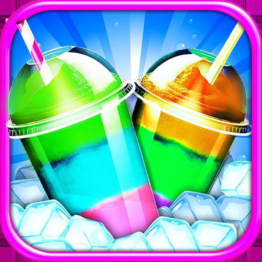 Frozen Icy Slushy Maker - Kids Ice Dessert Game Free