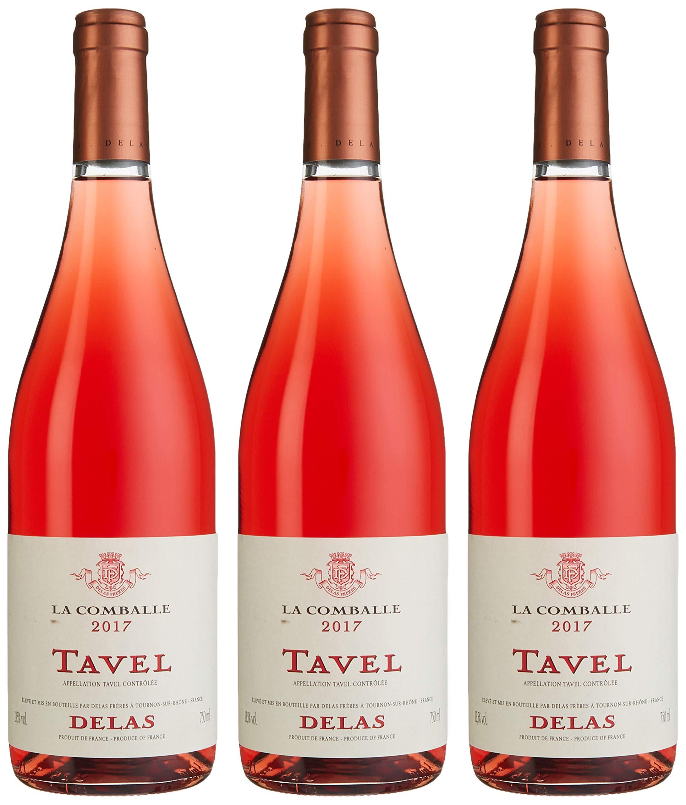 Delas-Tavel-La-Comballe-Ros-2017-3er-pack-3-x-075-l