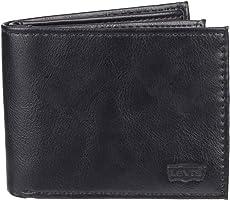 محفظة Levi's Men's Levi's Men's Extra Capacity Slimfold Eagle Logo Wallet -  Extra Capacity Slimfold Wallet. One Size