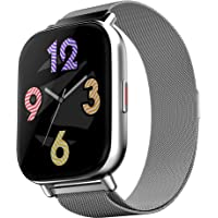 Zebronics ZEB-FIT7220CH (Limited Edition) Smart Fitness Watch with Call Function via Built-in Speaker & Mic, 2.5D Curved…
