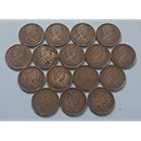 AL. EN. SONS, Coins and Stamps, 100% Genuine, UNCIRCULATED, Sixteen Foreign Coins Set (Elizabeth Second) for Collection…