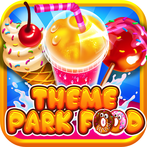 Theme Park Fair Food Maker - Make Dessert Foods, Amusement Parks Candy Pizza, FREE Toy Prizes, Play Carnival Games in Kids Bake & Cook Chef Game for Boys & Girls