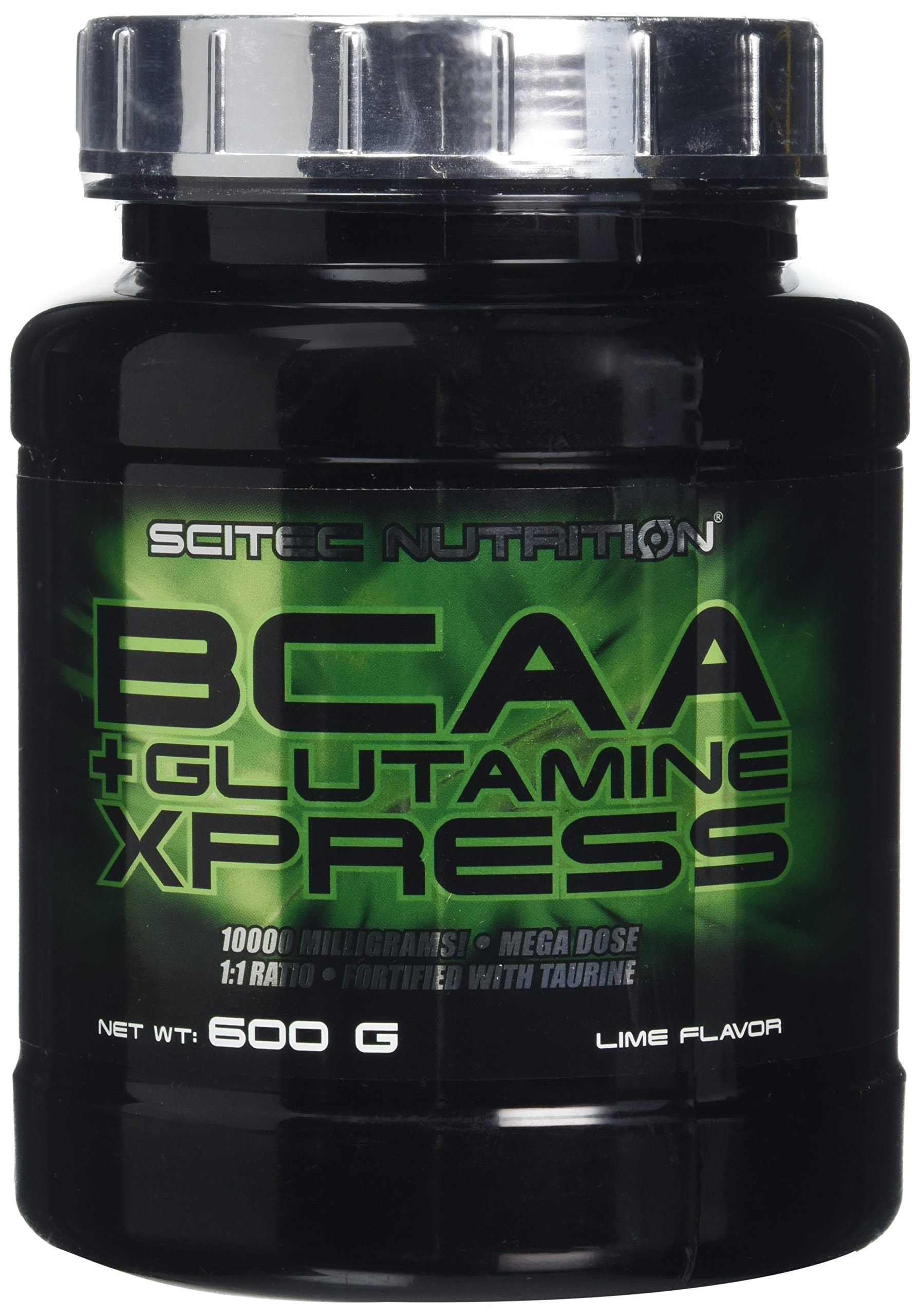 81SUaW 661L - Scitec Nutrition BCAA + Glutamine Xpress, Fortified with Taurine, Sugar Free, 600 g, Lime