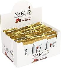 NARCISS 55% Belgian Dark Chocolate, Cranberry & Almond, 30 Pieces, 450g