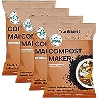 TrustBasket Bokashi Compost Maker Powder, 500 g (Pack of 4)
