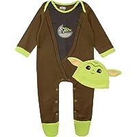 Star Wars Tutina da Notte e Cappello per Bambino The Mandalorian Baby Yoda