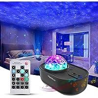 Mereceeu Projecteur Ciel Etoile, 33 Modes Lampe Projecteur LED Étoile, Éclairage Planetarium Projecteur Luminosité…
