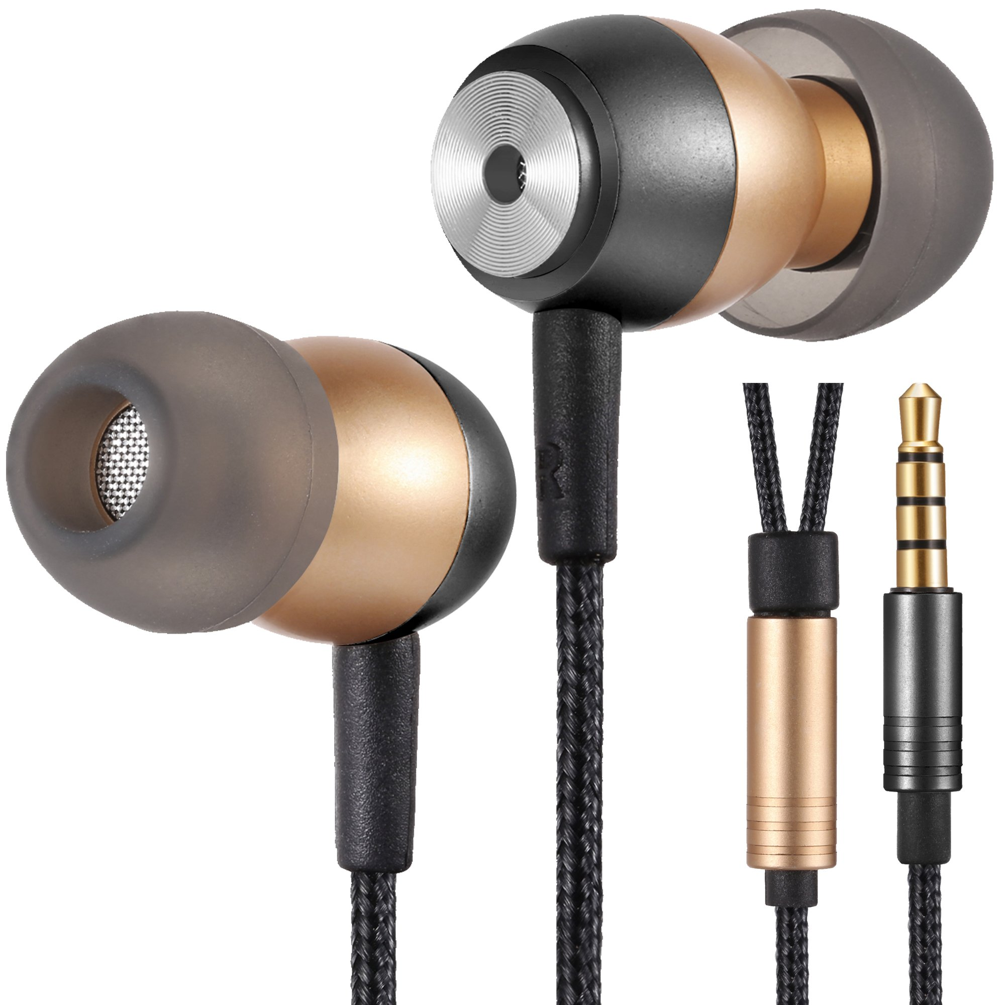dc70dfdce29 Betron GLD60 Noise Isolating in Ear Earphones Headphones for iPhone ...
