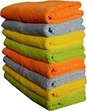 Sheen Microfiber Cloth | Microfiber Cleaning Duster for car | Microfiber Cleaning Duster | Microfiber dust Cloth | Washing Microfiber Cloth | 40X40 cm | 300 GSM | Pack of 8 |