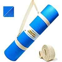 Boldfit Yoga mat for Women and Men with Carry Strap, EVA Material 6mm Extra Thick Exercise mat for Workout Yoga Fitness…