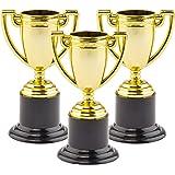 Gouden trofee bekers (6 stuks)