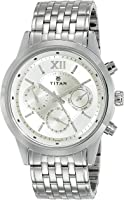 Titan Neo Analog Champagne Dial Men's Watch - 1766SM01