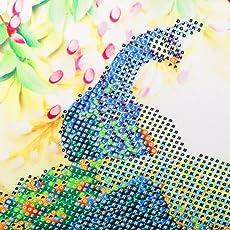Magideal 5D Diamond Painting Embroider Cross Stitch Craft DIY - Spirit of Peacok