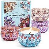 LA BELLEFÉE Bougies Parfumées Coffret, Cire de Soja Naturelle, Bougies d'Aromathérapie, Parfait pour la Relaxation du Corps,
