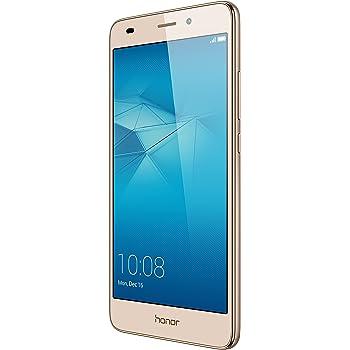 "Honor 5C Smartphone 4G, Display 5.2"" IPS LCD, 2 GB RAM, 16 GB memoria interna, Fotocamera da 13 MP, Android M EMUI 4.1, Batteria 3100 mAh, Dual SIM, Oro"