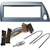 Acv 281114 13 1 Din Radioblende Für Ford Ka Silber Elektronik
