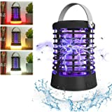 Lampe Anti Moustique Lampe pour Eclairage Extérieur, Intérieur et d'urgence,3 Modes USB Rechargeable 2 en 1 ,Etanche IP65,Eff
