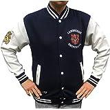 Cambridge University Official Applique Baseball Jacket - Official Apparel of The Famous Univeristy of Cambridge