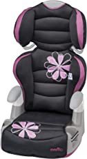 Evenflo Amp High Back Booster Car Seat, Carrissa