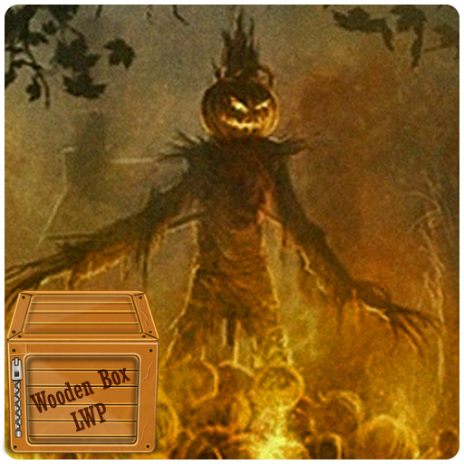 Halloween Camp Fire Live - Wallpaper Horror Live Halloween