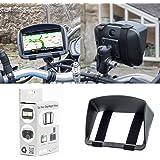 Pare-soleil pour moto ou vélo la navigation par satellite Garmin Zumo 595LM 396LMT-S 346LMT-S TomTom Rider 500 550 450…