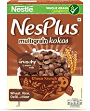 Nestle NesPlus Breakfast Cereal, Multigrain Kokos – Choco Krunch, 350 Grams