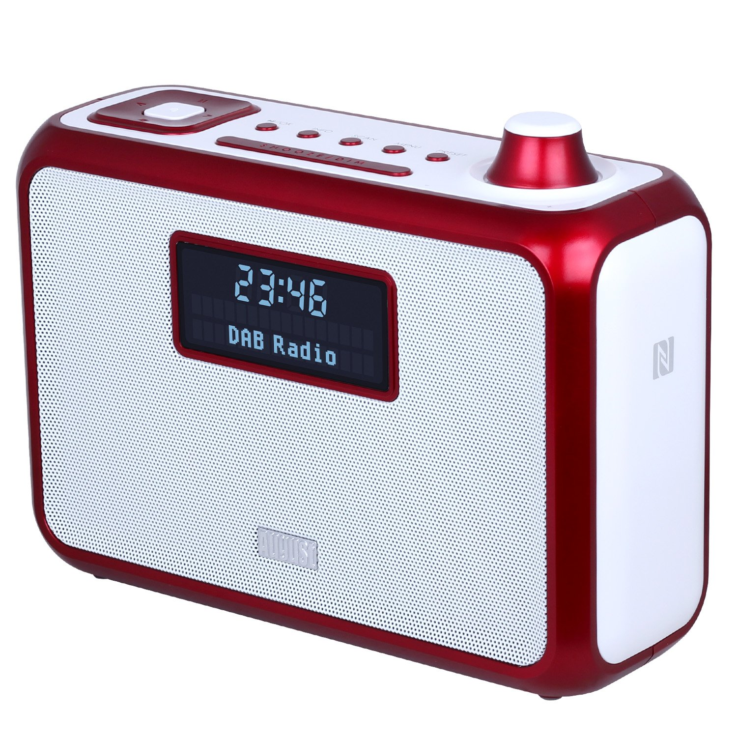 portable bluetooth dab mp3 radiowecker radio mit nfc. Black Bedroom Furniture Sets. Home Design Ideas