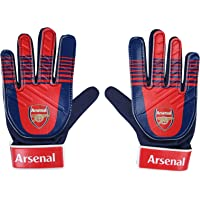Arsenal FC Boys Gloves Goalie Goalkeeper Kids Youths OFFICIAL Football Gift