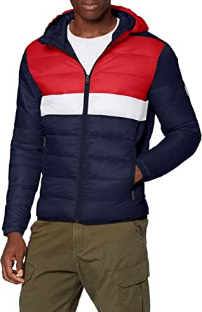 Jack & Jones Men's Jjemagic Puffer Hood STS Jacket