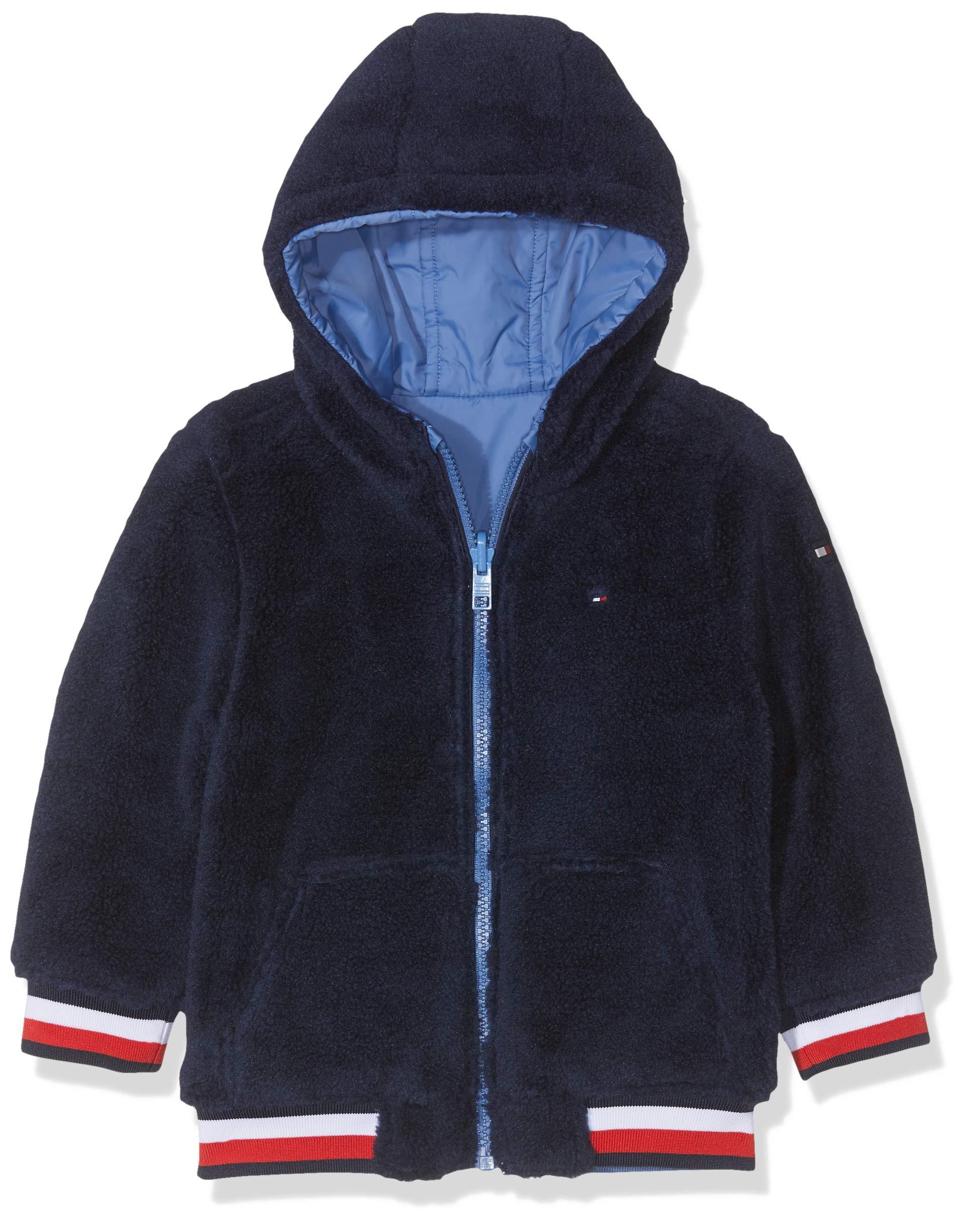 Tommy Hilfiger Reversible Teddy Jacket Chaqueta para Bebés 2