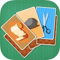 Stein Papier Herausforderung - Kartenspiel