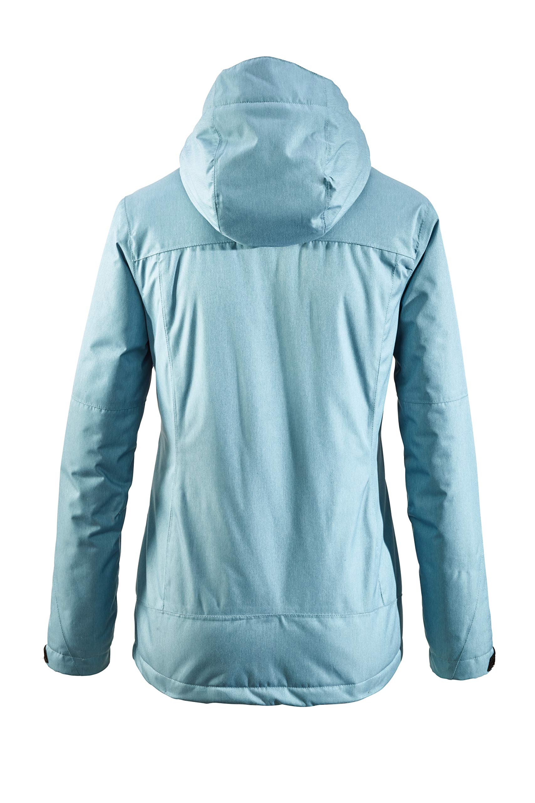 81ScqLavXhL - killtec Women's Zala Functional Jacket with Zip-Off Hood