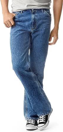 Lee Uniforms Men's Regular Fit Bootcut Jean, Pepper Stone, 40W / 32L