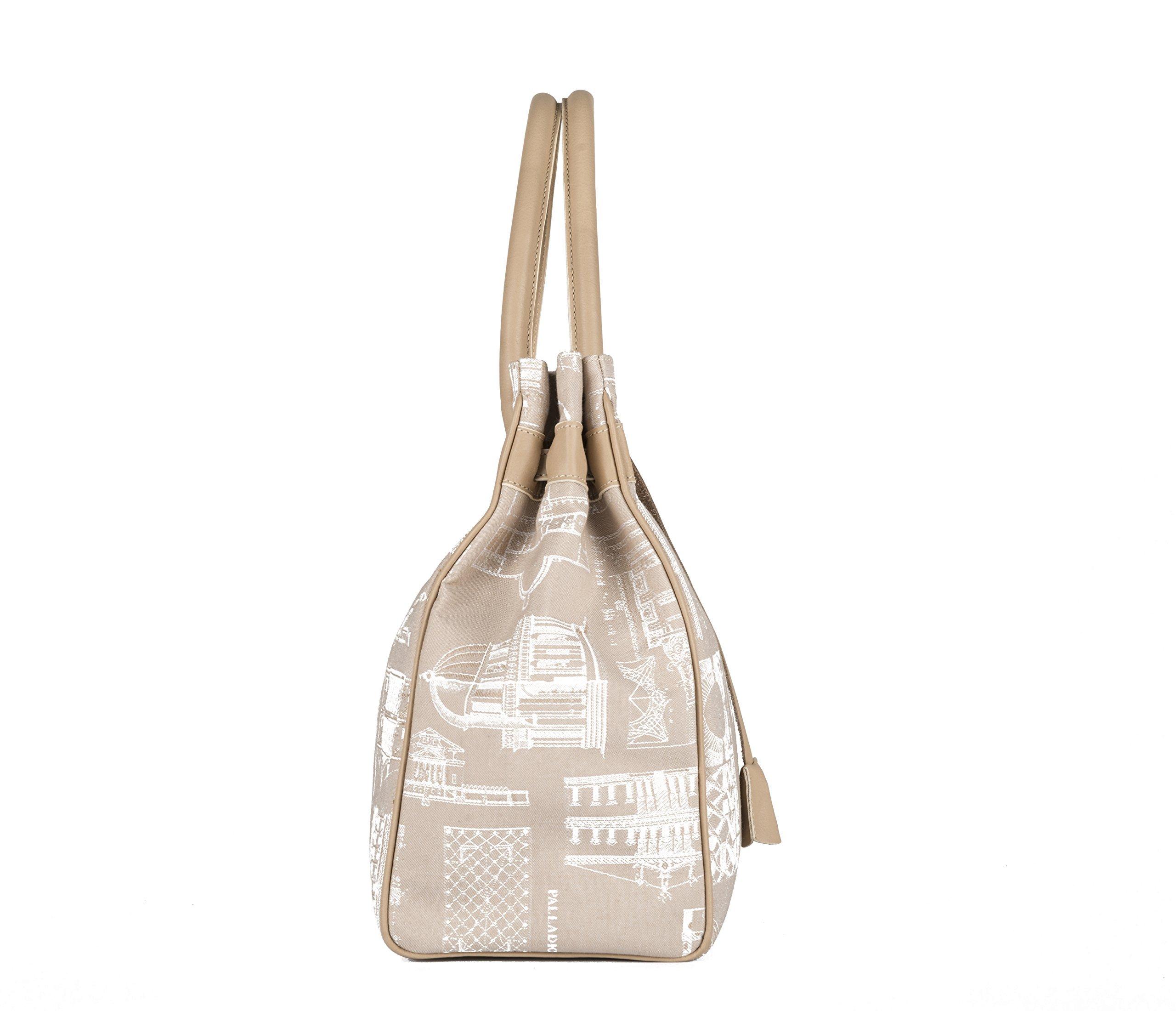Palladiobags, Villa Angarano bag (Birkin), Made in Italy, squirrel - handmade-bags