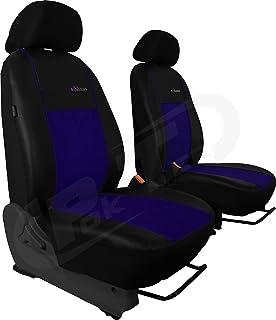 Sitzbezüge Schonbezüge SET EC Toyota Hiace Stoff dunkel grau