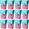 Cajas de Palomitas Bolsas Palomitas Trolls Caja Cartón de Caramelo Contenedor de maíz Unicornio para niños Fiesta de cumpleañ
