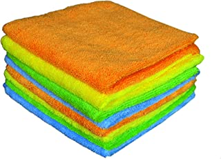 Sheen Microfiber Cleaning Cloth | Cleaning Products | Cleaning Cloth | Cleaning Towels| Cleaning Microfiber | Cleaning Cloth | 30X40 cm | 300 GSM | Pack of 8 |